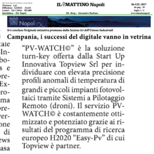 droni professionali in Campania