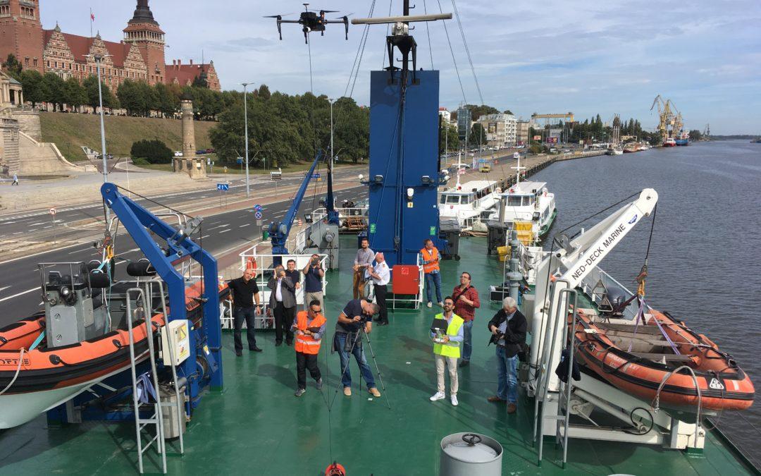 SARA Project – Test on NAWIGATOR XXI Vessel