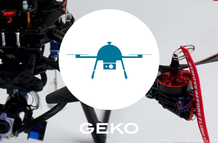 Geko – quadcopter