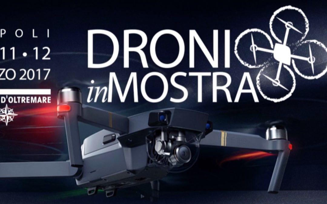 TopView a DRONI IN MOSTRA – Napoli 10-11-12 marzo