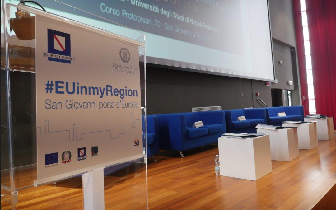 """#EUinMyRegion – Università """"Federico II"""" – Campus S. Giovanni a Teduccio"""