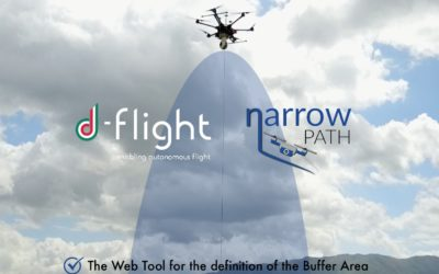 "Agreement between d-flight and TopView for the integration of ""NARROW PATH"" service"