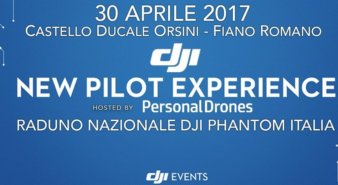DJI New Pilot Experience – 30 aprile