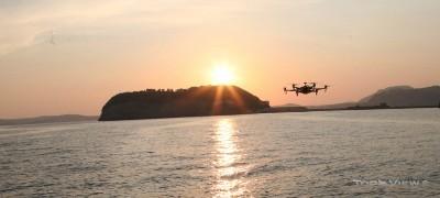 Naufraghi e Droni: ricerca dei dispersi in mare