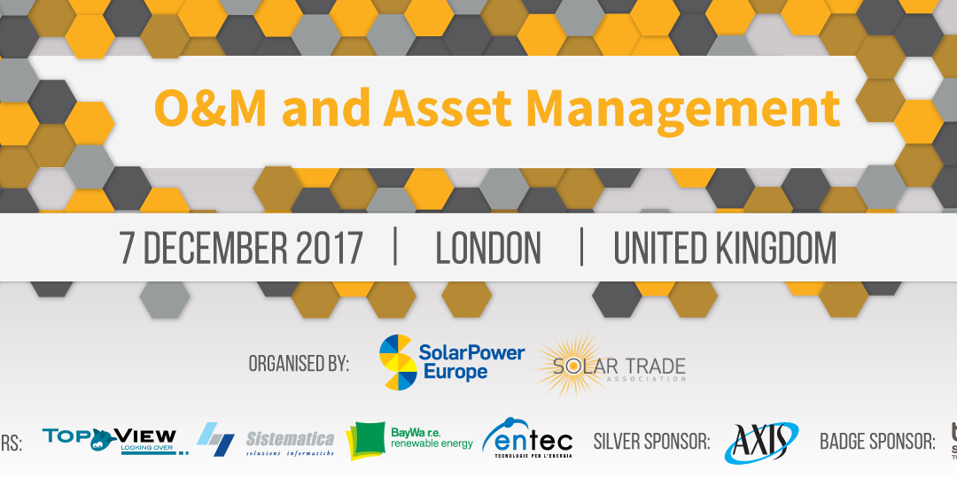 SolarPower Europe – London – 7 december 2017